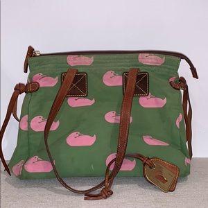 Green/Pink Vintage Dooney & Bourke Bag